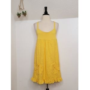 Juicy Couture Yellow Racerback Dress